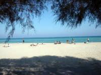 La spiaggia di Mondello  in una giornata di novembre del 2005 PALERMO Gabriella Alù