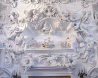 Oratorio del SS. Rosario in Santa Cita. Stucchi del Serpotta. La Battaglia di Lepanto. PALERMO Gabri