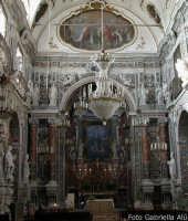 Quartiere Capo. Interno della Chiesa dell'Immacolata Concezione, spettacolare esempio di barocco fiorito palermitano  - Palermo (11711 clic)