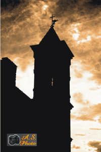 Il campanile.  - Collesano (3975 clic)
