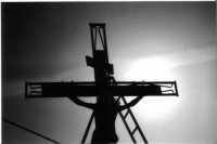 Settimana Santa - Croce in controluce  - Mussomeli (3624 clic)