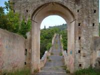 CANICATTINI BAGNI:Il Ponte di S. Alfano, antico costrutto di pietra dell'anno 1796. Al di sopra del ponte, stanno scolpiti,in pietra da taglio del tempo, due personaggi, portanti ciascuno una bottiglia e un pane. Una graziosa leggenda li dipinge come campieri, uno di nome Currarinu e l'altro Calamaru i quali, per odi personali, si uccisero proprio sopra il ponte.Il ponte congiunge il territorio di Canicattini all'exe feudo S. Alfano.......salvatore petruzzelli  - Canicattini bagni (6165 clic)