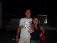 Festa della birra:evento live allo stadio comunale 26 agosto 06!!Nella foto dj CHIARA ROBIONY di m2o Roma e dj Petrux di eventiblei(Canicattini Bagni)......!!!!  - Solarino (13090 clic)