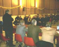 Montagnareale. Salone S.Sebastiano. Presentazione del romanzo Il nome nemico di NIno Casamento. L'intervento del sindaco Sidoti  - Montagnareale (3208 clic)