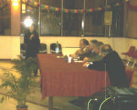 Montagnareale. Salone S.Sebastiano. Presentazione del romanzo Il nome nemico di NIno Casamento. Il brillante intervento di una giovane neolaureata, la dottoressa Tamara Caruso  - Montagnareale (3262 clic)