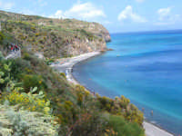 Una spiaggia della maggiore tra le isole eoliane  - Lipari (8048 clic)