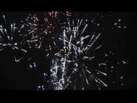 Fuochi d'artificio finali, a conclusione della festa di San Giuseppe. SCICLI Davide Militello