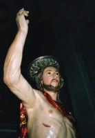 Statua lignea dell'Uomo Vivo (U GIOIA) (XVIII°sec). SCICLI Davide Militello