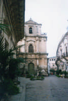 Chiesa di San Michele (XVIII°sec) in via Mormino Penna. SCICLI Davide Militello