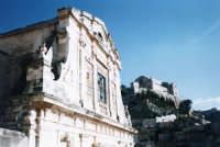 Scorcio chiesa della Consolazione con sfondo sul colle di San MAtteo. SCICLI Davide Militello