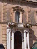 Palazzo Favacchio (XVIII°sec). Portale D'Ingresso.  - Scicli (1911 clic)