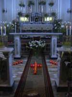 ' I Sabburcara', ovvero i Santi Sepolcri, che si allestiscono il Giovedì santo, che a Scicli hanno una lunga e antica tradizione.(sepolcro della chiesa di Valverde).  - Scicli (2594 clic)