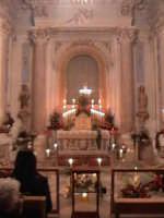 'I Sabburcara',ovvero i Santi Sepolcri che vengono allestiti per il Giovedì Santo, che a Scicli hanno un'antica tradizione. (sepolcro della chiesa di San Bartolomeo).  - Scicli (2154 clic)