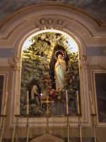 La rappresentazione del miracolo di Fatima, nel cappellone della chiesa di Gesu.(sec.XIX°)  - Scicli (2262 clic)