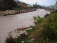 Piena del torrente Modica-Scicli nei pressi del convento di Sant'Antonino- data 31/01/2006 SCICLI Da
