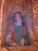Statua delle 'Marie', ai lati dell'altare centrale della chiesa del calvario.  - Scicli (1725 clic)