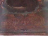 Particolare del quadro di San Guglielmo, si noti la veduta settecentesca della città di Scicli. SCIC