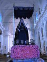 L'addolorata della Chiesa di San Giovanni Evangelista. (sec.XIX°). SCICLI Davide Militello
