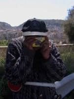 Angelino, si diletta a fotografare...!  - Scicli (3023 clic)