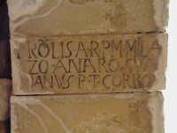 Particolare chiave di volta del refettorio del convento di Sant'Antonino (XIV°sec)-Architettura pre-