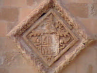Particolare cartiglio chiesa di Santa Maria del Priorato di Sion (XIV°sec)-Architettura pre-Terremoto del 1693-  - Scicli (5213 clic)