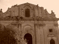 Facciata chiesa di San Matteo (XVIII°sec). SCICLI Davide Militello