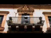 Balcone di Palazzo Veneziano-Sgarlata (sec XVIIIý). SCICLI Davide Militello