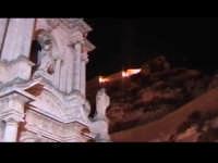 Chiesa di san Bartolomeo con sullo sfondo il convento di Santa Maria Di Sion.  - Scicli (1494 clic)