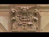 Particolare di un capitello della Chiesa del convento di Sant'Antonino(XIVýsec) architettura pre-ter