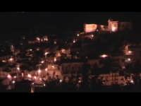 Vista Notturna di Scicli dal colle di San Matteo. SCICLI Davide Militello