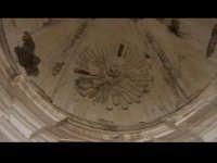 Particolare dell'abside della Chiesa del convento di Sant'Antonino(XIVýsec) architettura pre-terremo