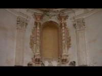 Particolare della nicchia dell'abside della Chiesa del convento di Sant'Antonino(XIVýsec) architettu