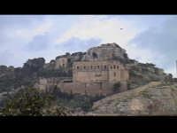 Colle di San Matteo con l'omonima chiesa (XVIII°sec). SCICLI Davide Militello