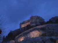Colle di San Matteo all'imbrunire.  - Scicli (1567 clic)