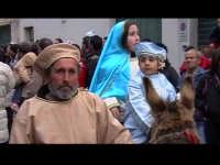 Cavalcata di San Giuseppe a Donnalucata 12 marzo 2006.La Sacra Famiglia.  - Scicli (2226 clic)