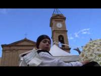 Cavalcata di San Giuseppe a Donnalucata 12 marzo 2006. Tipico vestiario con la 'Bburritta' il classico cappello siciliano con il pendente rosso.  - Scicli (2011 clic)