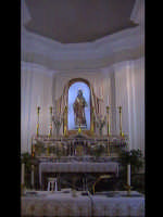 Interno chiesa di Valverde (XVII°sec). SCICLI Davide Militello