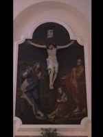 Cristo crocifisso nella chiesa di Valverde. SCICLI Davide Militello