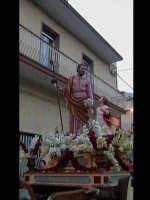 Il nuovo simulacro di San Giuseppe che sostituisce quello del settecento. SCICLI Davide Militello