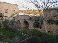 Veduta dei resti del chiostro del convento di Sant'Antonino (XIV°sec)-Architettura pre-Terremoto del