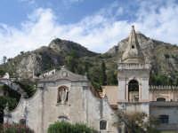 Prospetto principale del Duomo di Taormina  - Taormina (2778 clic)