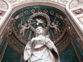 Statua di San Giovanni, scultura del Gagini presso la Basilica di San Giovanni a Castelvetrano  - Castelvetrano (2670 clic)