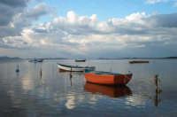 Panoramica dello Stagnone, in fondo l'isola di Mothia  - Marsala (3527 clic)