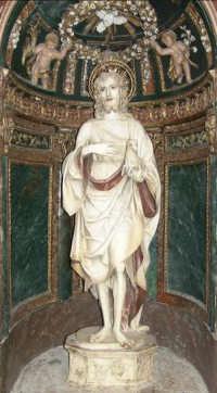 Castelvetrano - San Giovanni Battista dello scultore Antonello Gagini  - Castelvetrano (3325 clic)