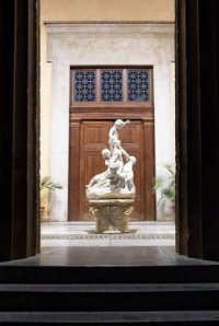 Castelvetrano - Teatro Selinus i Putti dello scultore Rutelli  - Castelvetrano (1843 clic)