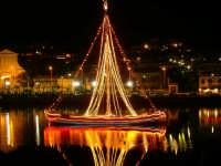 barca  con cui viene portata la statua di San Nicola  - Ganzirri (7453 clic)