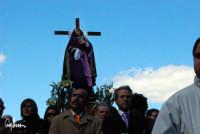 La processione dell'Addolorata. Biancavilla  - Biancavilla (1967 clic)