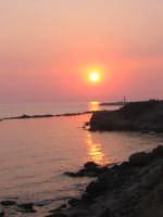 tramonto da kamarina  - Scoglitti (4502 clic)