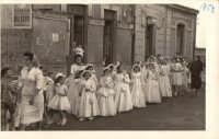 CHIESA S. MARIA ASSUNTA: PROCESSIONE DEL CORPUS DOMINI A.D.1958  - Nizza di sicilia (6430 clic)