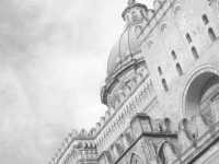 scorcio prospettico della cattedrale di palermo   - Palermo (4808 clic)